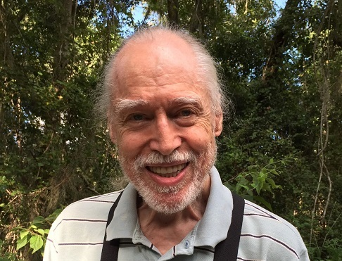 Piers Anthony at 84, Aug. 6, 2018
